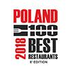 2018 100 best restaurants Poland